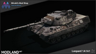 Mirukii's Leopard 1A1A1 Remodel [1.5.1.0]